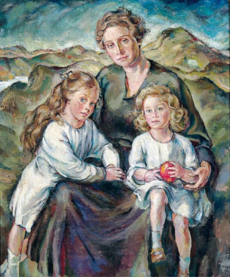 Stefan Hlawa (1896-1977), attributed to Mother and