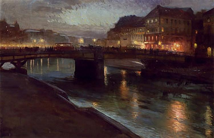 Richard Harlfinger (1873-1948), attributed to
