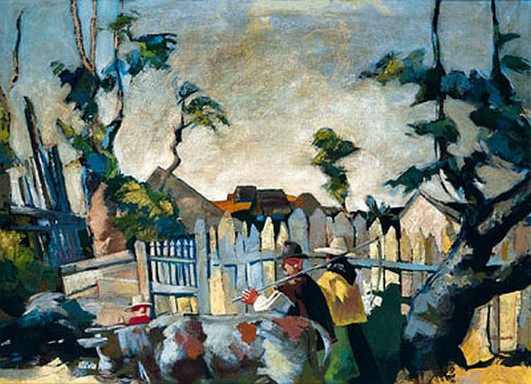 Vilmos Aba-Novák (Budapest 1894-1942) On the way