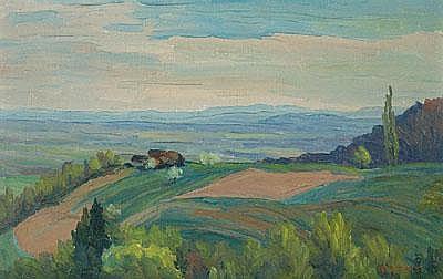Carl Rotky (geb. Graz 1892-1977 Grottenhof, Besuch