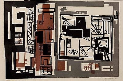 - Gustav Kurt BECK (Wien 1902 - 1983 Wolfsburg)