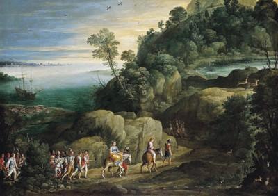 Paul Bril (Breda 1553/54 - 1626 Roma)