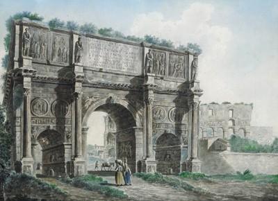 Franz Kaisermann (Yverdon 1765 - 1833 Roma)