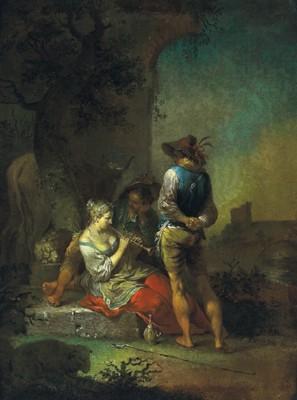 Januarius Zick (München 1730 - 1707 Ehrenbreitstein)