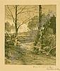 Hugo Darnaut (Dessau 1850-1937 Vienna) Scenery