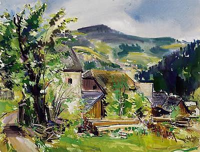 Rudolf Buchner (Wernsdorf 1894-1962 Vienna)