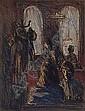 Georg EISLER (Wien 1928 - 1998) 'Im Kaffeehaus' unten rechts signiert, Radierung, Nr. 10 on 100 nummerierten Exemplaren, Blattgrosse ca. 69 x 49 cm, Passepartout, gerahmt, Georg Eisler, Click for value