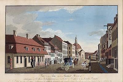 Johann Georg ROSENBERG(Berlin 1739 - 1808) Ansicht