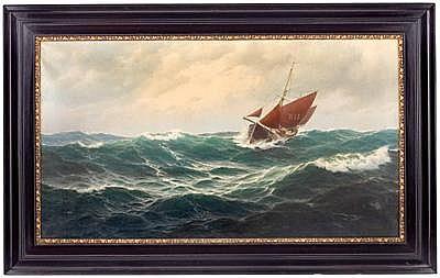 Max JENSEN(Marinemaler in Berlin, 1887 geb.)