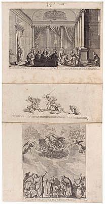 Melchior KÜSEL(Augsburg 1626 - um 1683) Blätter