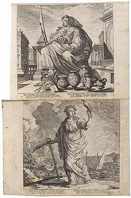 Melchior KÜSEL(Augsburg 1626 - um 1683) a) Serie