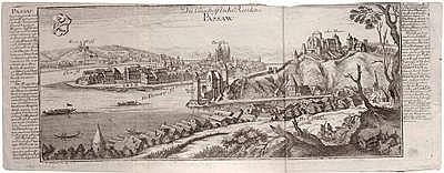 Gabriel BODENEHR(Augsburg 1673 - 1766) Ansicht der