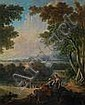 Old Master Painting by Jean-Baptiste Marie Huet, Jean-Baptiste Huet, Click for value