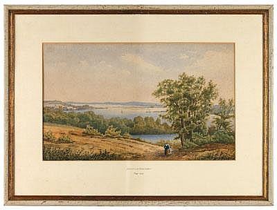 Oskar v.Alvensleben 1831-1903, Die Havel bei