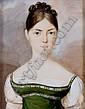 Carl von Saar(Vienna 1797-1853) Portrait of a Lady