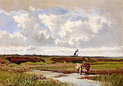 Johann Gualbert Raffalt(Murau 1836-1865 Rome) Cows