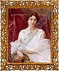 Vlaho Bukovac(Agram 1855-1922 Prague) Portrait of, Vlaho Bukovac, Click for value
