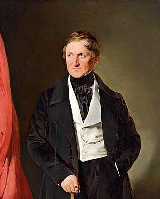 -Franz Eibl(Vienna 1806-1880) Three-Quarter