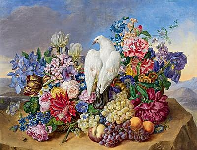 Joseph Nigg(Vienna 1782-1863) Large, Decorative