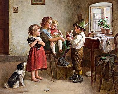 Edmund Adler(Vienna 1876-1965 Mannersdorf) Punch &