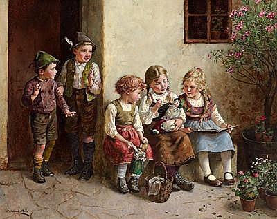 Edmund Adler(Vienna 1876-1965 Mannersdorf/Lgb.)
