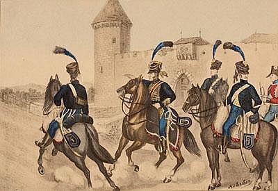 Albrecht von ESCHER (Zürich 1833 - 1905 Genf)