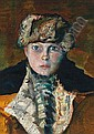 Anton Krejcar * (Wien 1923 geb.) Bildnis Käthe, Anton Krejcar, Click for value