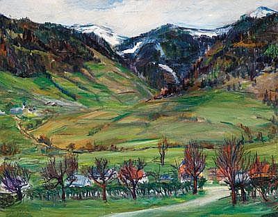 Wilhelm Kaufmann (Wien 1895-1975) Vorfrühling,