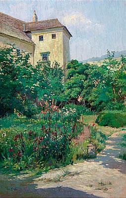 Liesl Kinzel (Wien 1886 1961 Spitz/Donau) Garten