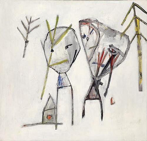 Anselm Glück *(born 1950 in Linz) Untitled, c.