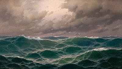 Max Jensen (Marinemaler in Berlin, erwähnt 1887)