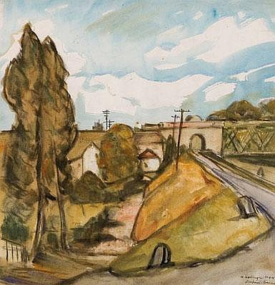 Hanns Kobinger (Linz 1892-1974 Gramastetten)