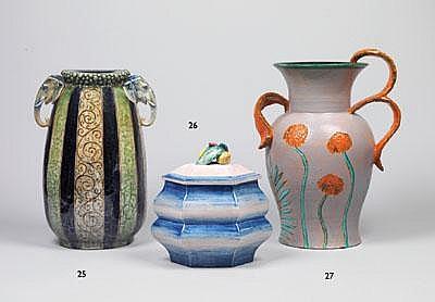 Rudolf Knörlein (1902-1988), Große Vase, Entwurf