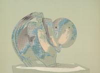 Cornelius Kolig (born Vorderberg, Carinthia,1942) Untitled, 3 colour screenprints, signed and