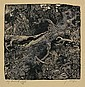 Switbert Lobisser (Tiffen 1878-1943 Klagenfurt) 'Bridge', 1936, wood-cut, titled, signed S., Switbert Lobisser, Click for value
