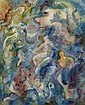 Alfred Buchta (Trieste 1880-1952 Vienna) Soaring Figures, Watercolour, Gouache on paper, Alfred Buchta, Click for value