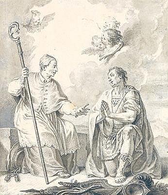 Gottfried Eichler (1715 - 1770 Augsburg) A