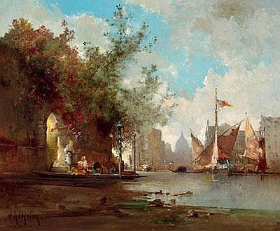 Jean d'Alheim (Gursk 1832-1894 Paris) Scene in