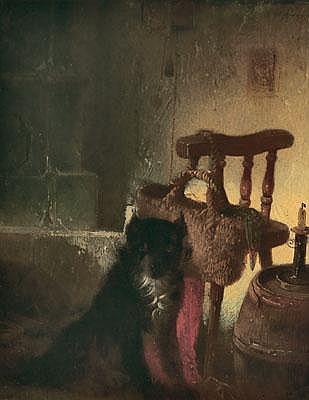 Carl Pischinger (Streitdorf 1823-1886 Liezen) Dog