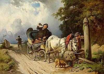 Adolf van der Venne (Vienna 1828-1911 Schweinfurt)
