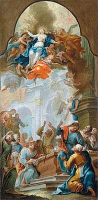 Cosmas Damian Asam (Benediktbeuern 1686 - 1739