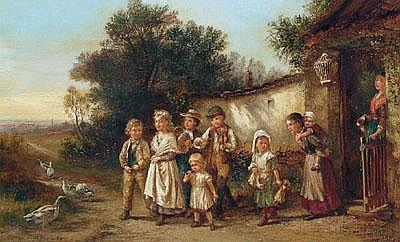 Fritz Beinke (Düsseldorf 1842-1906) Die