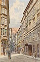 Erwin Pendl (Wien 1875-1945) Wien, Riemergasse,, Erwin Pendl, Click for value