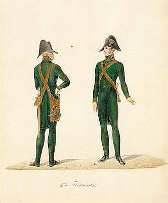 Carl Schindler (1821-1842) Umkreis Uniform der K.