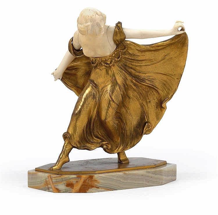 Arthur Hoffmann (1874-1960), A dancing figure,