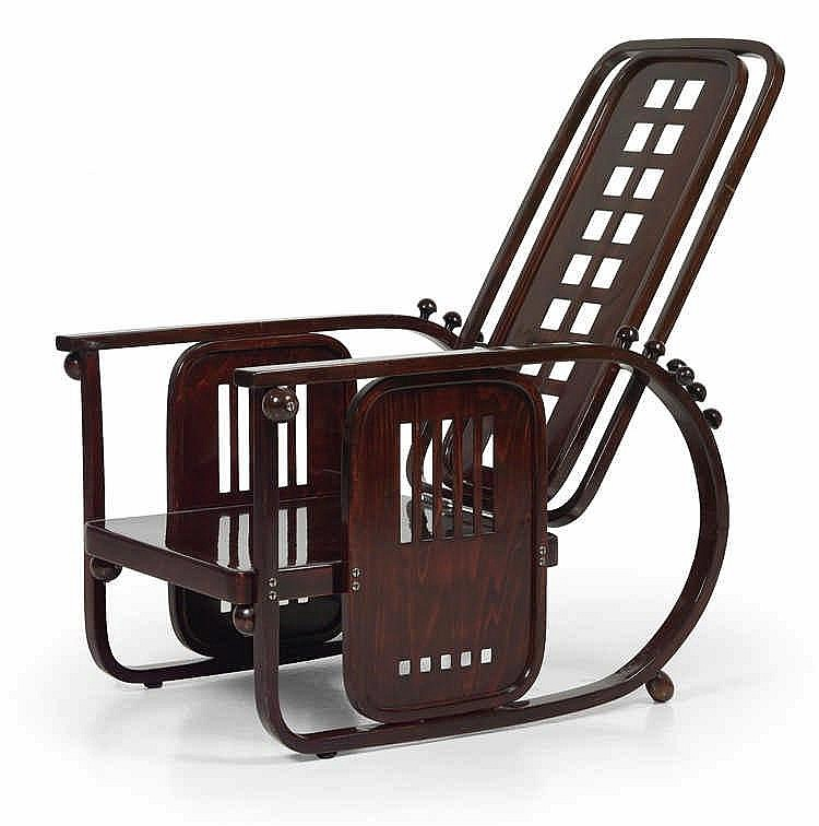 Josef Hoffmann, A seating machine,