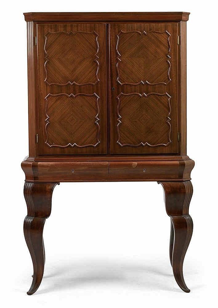 Otto Prutscher, A small cabinet,