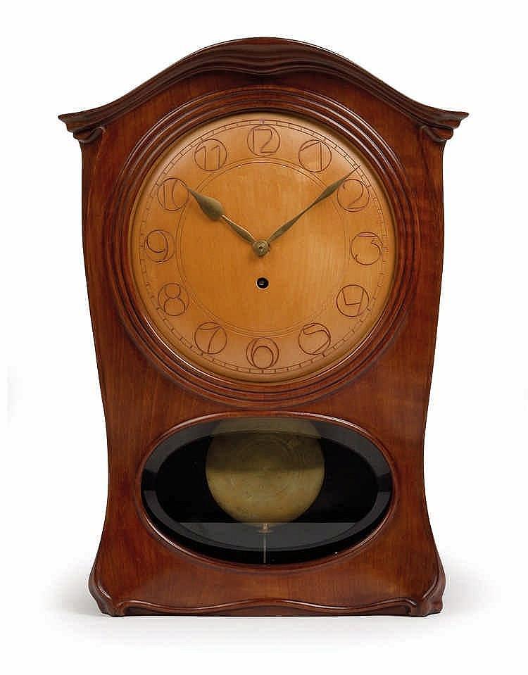 Josef Maria Olbrich (Troppau 1867-1908 Düsseldorf), A table clock,