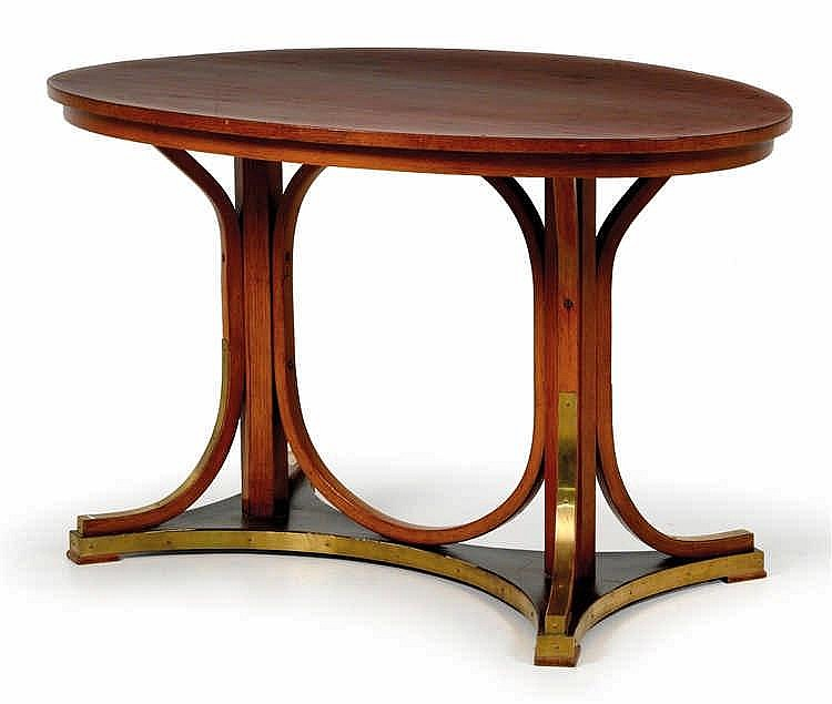 Attributed to Otto Wagner, An oval table no. 8051,