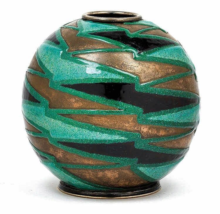 Camille Fauré, A globular vase,